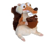 Ice Age Scrat Stuff Toy, Brown