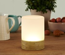 LED Table Lamp, Bamboo's Look
