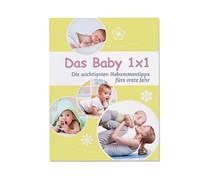 Book Baby 1x1, German, Yellow/White