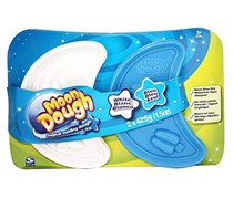 Spin Master Moon Dough Double Disc - White & Blue