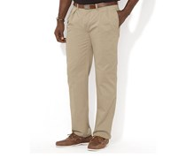 Men's Classic-Fit Pleated Chino Pant, Hudson Tan
