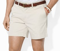 Ralph Lauren Classic-Fit Flat-Front Chino Shorts, Beige