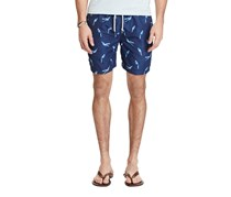 Polo Ralph Lauren Men's Printed Critter Swim Trunks, Navy