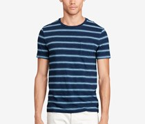 Polo Ralph Lauren Men Striped Cotton T-Shirt, Navy