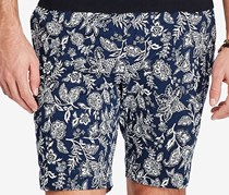 Ralph Lauren Classic-Fit Floral-Print Short, Blue Antique