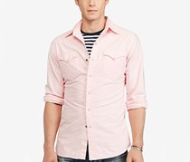 Polo Ralph Lauren Men's Oxford Western Shirt, New Rose