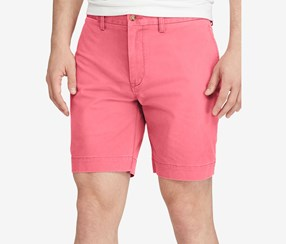 Polo Ralph Lauren Men's Stretch Classic Fit Chino Shorts, Nantucket Red