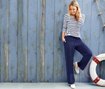 Women's Trouser, Navy blue
