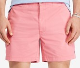 Polo Ralph Lauren Men's Big & Tall Classic-Fit Drawstring Shorts, Pale Red