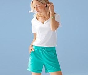 Women's Jersey Short, Mint