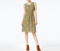 Maison Jules Sam Lace Shift Dress, Burnt Olive
