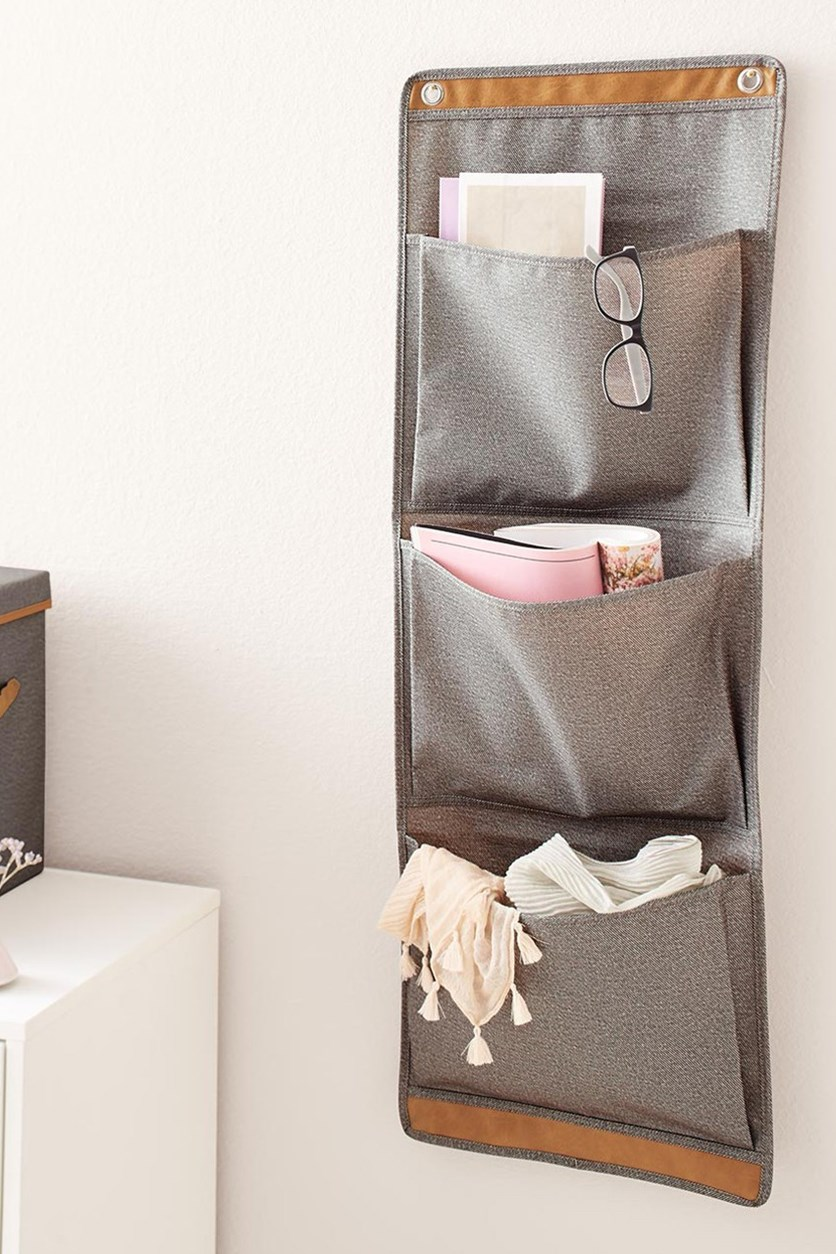 Wall Organizer, Gray