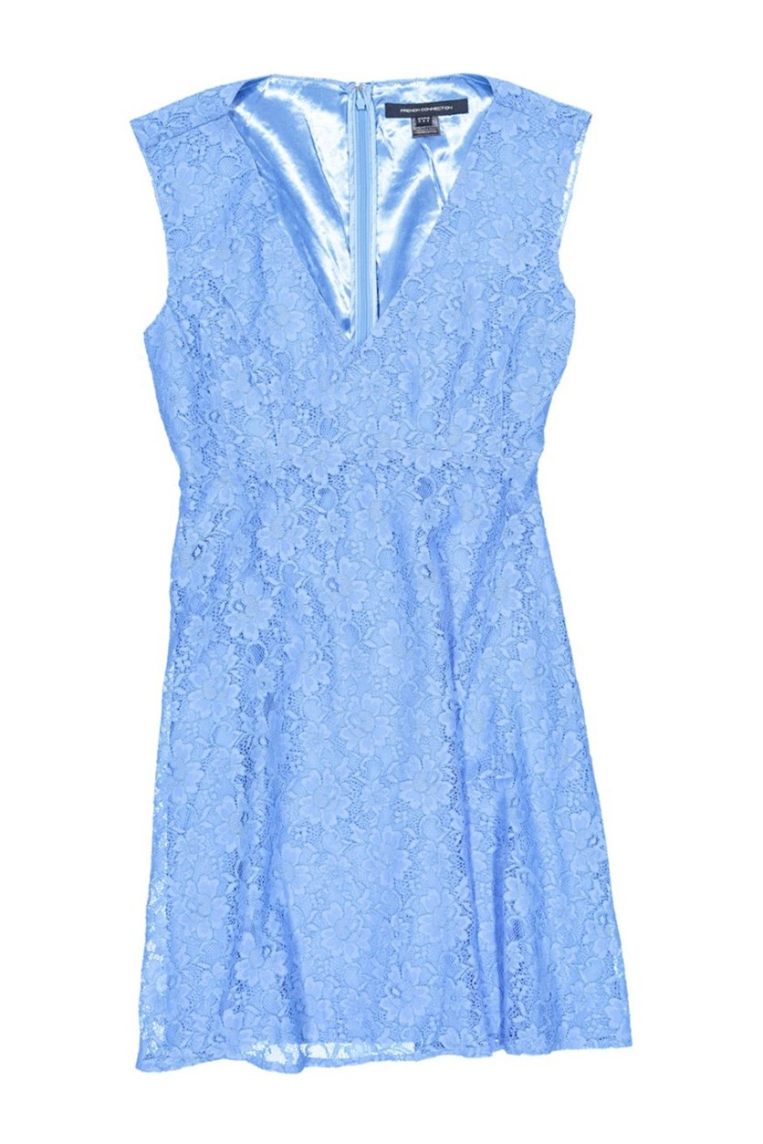 Women Eso Lizzie Ruth Sleeveless V-Neck Dress, Vista Blue