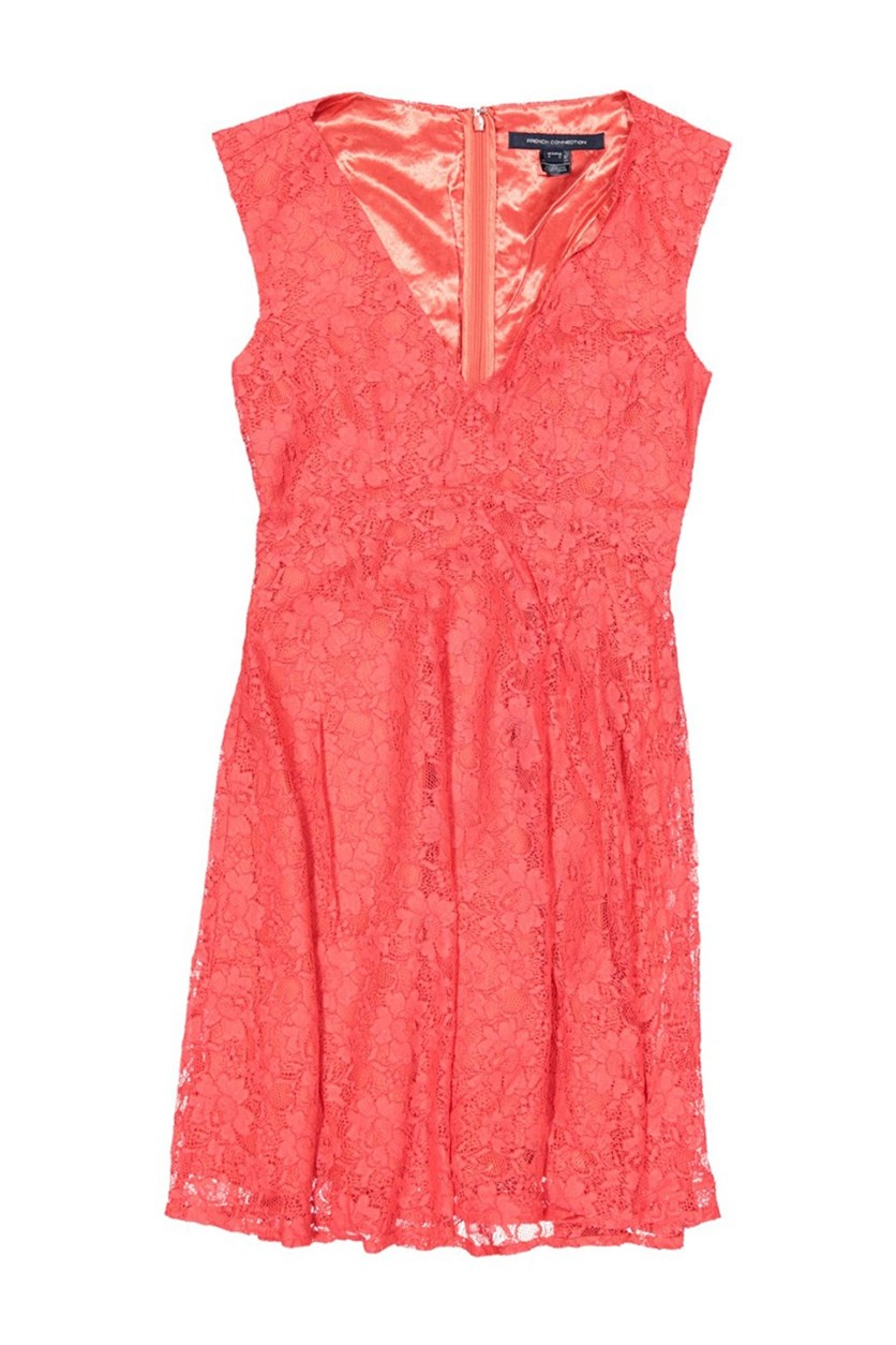 Women Eso Lizzie Ruth Sleeveless V-Neck Dress, Austin Pink