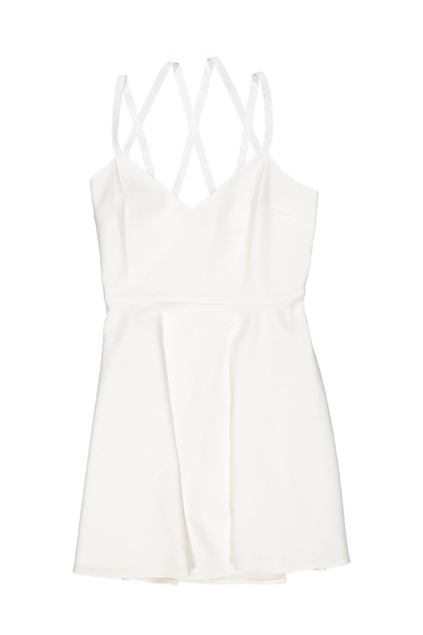 Women Whisper Light Strappy Dress, Summer White