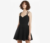 French Connection Whisper Ruth Strappy Dress, Black