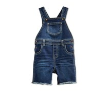 First Impressions Baby Boys Denim Shortall, True Blue