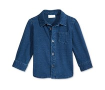 First Impressions Denim Button-Up Shirt, Authentic Wash