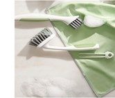 Universal Cleaning Brush with Tweezers