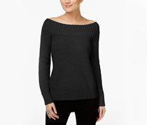 International Concepts Off-The-Shoulder Sweater, Deep Black