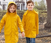 Kids Child Raincoat, Yellow