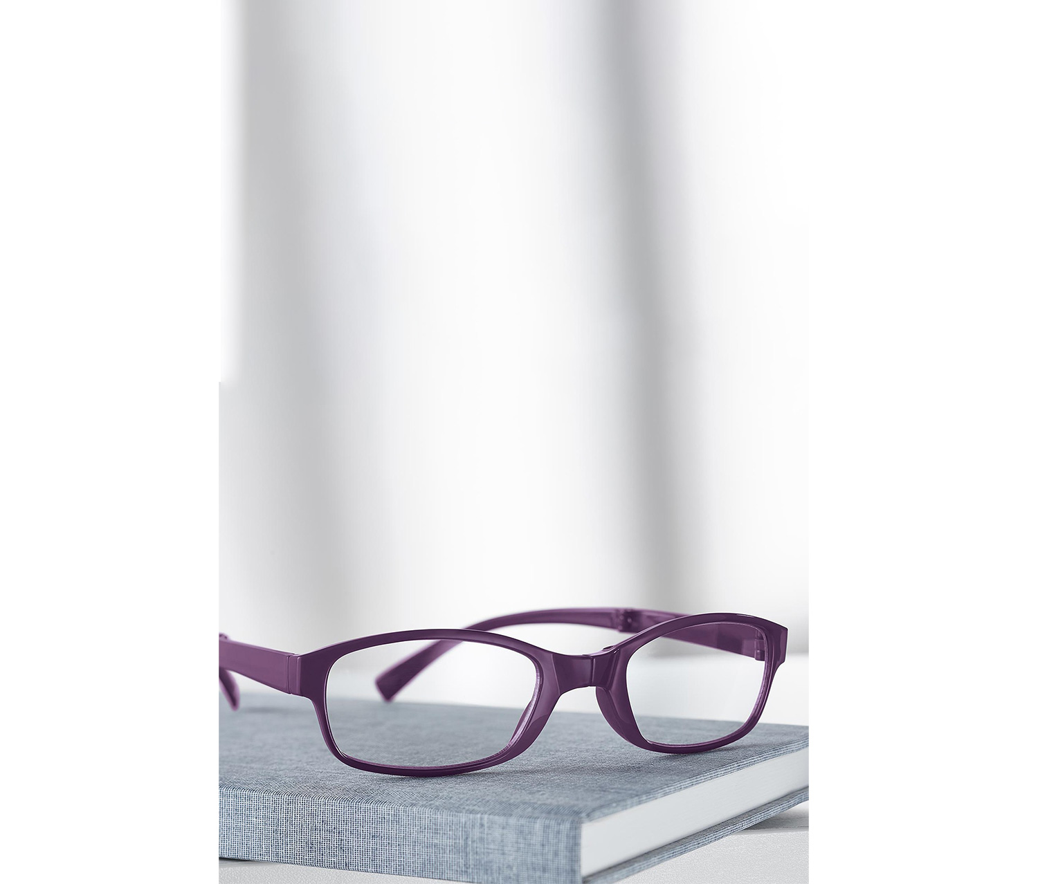 Women's Foldable Reading Glass, Berry
