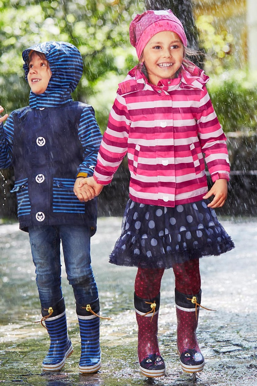 Girls Kids, Rainboots, Strawberry