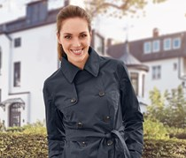 Women's Raincoat Jacket, Dark Blue