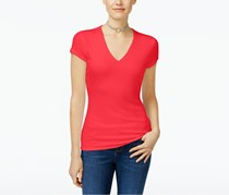 Inc International Concepts Ribbed Top, Hibiscus Blossom
