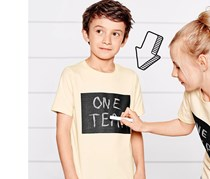 Boys Kids, Writeable Tshirt, Beige