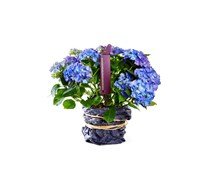 Garden thermometer, Lilac