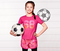Girls Kids, Sports Short, Pink