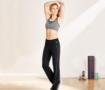 Women's Workout Pants, Black