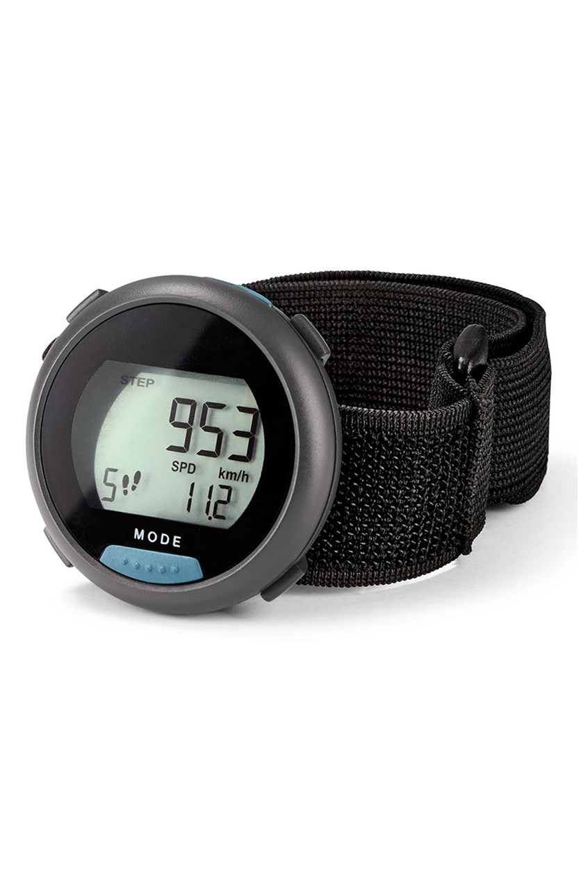 Pedometer, DE/AT, Gray with blue