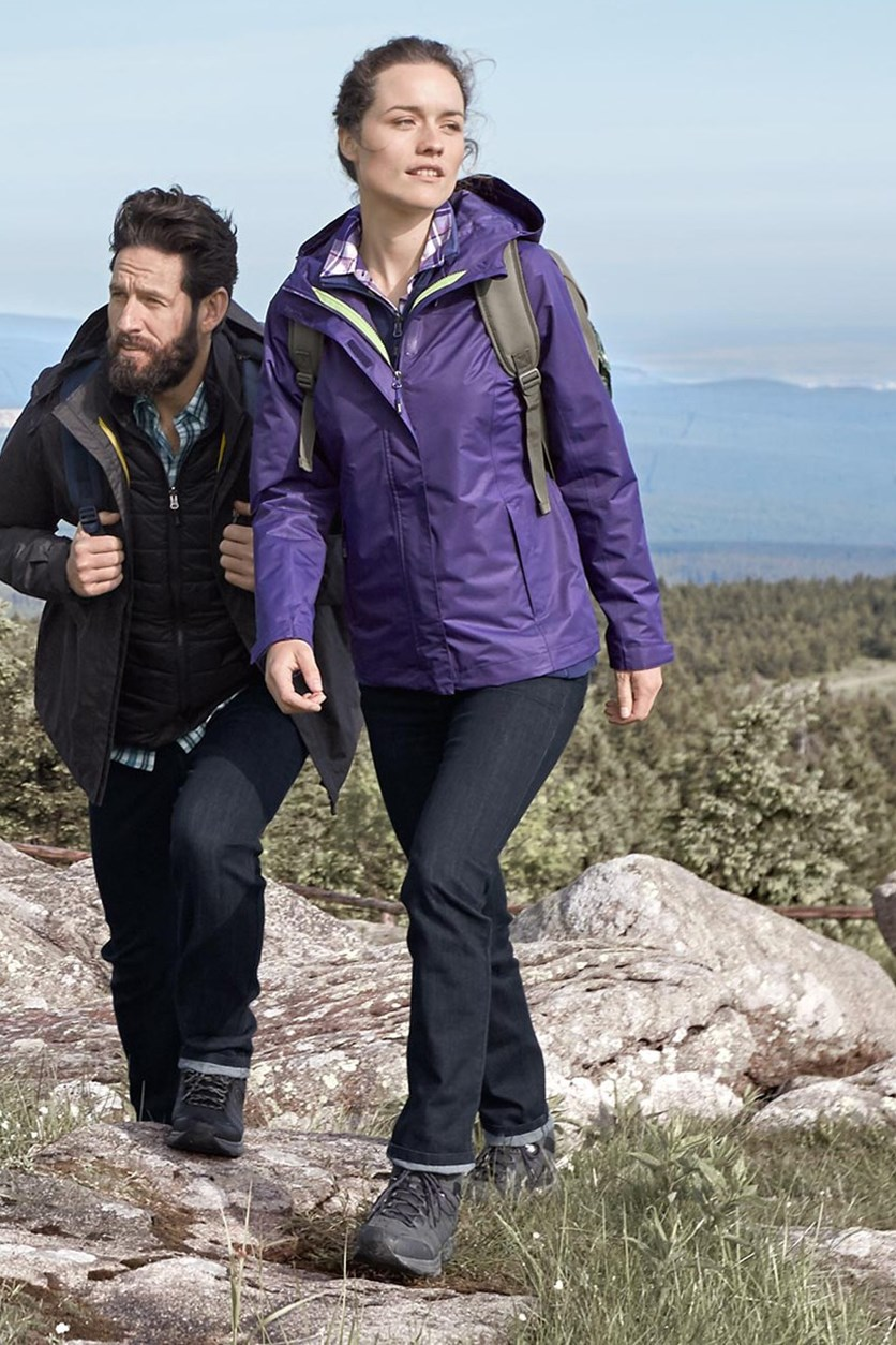Women's Functional Outdoor Jacket, Purple