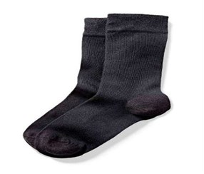 Women's Socks, Set of 2,  Dark Gray