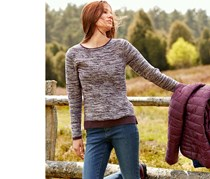 Women's Knitted Jacket, Multicolor