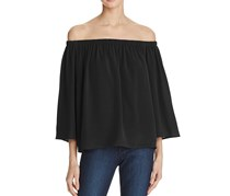 French Connection Off-the-Shoulder Top, Black