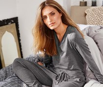 Women's Lounge Overall, Heather Gray