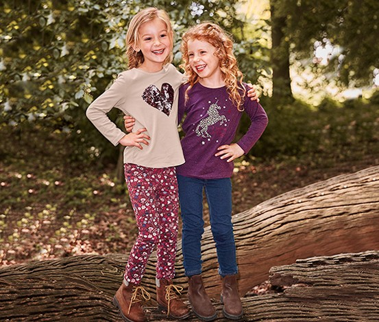 Girls Kids, Treggings, Burgundy with floral