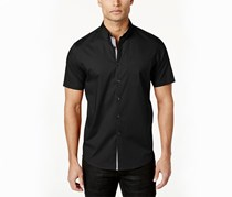 Inc Men's Larento Stretch Shirt, Black