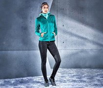 Women Thermal Running Jacket, Blue