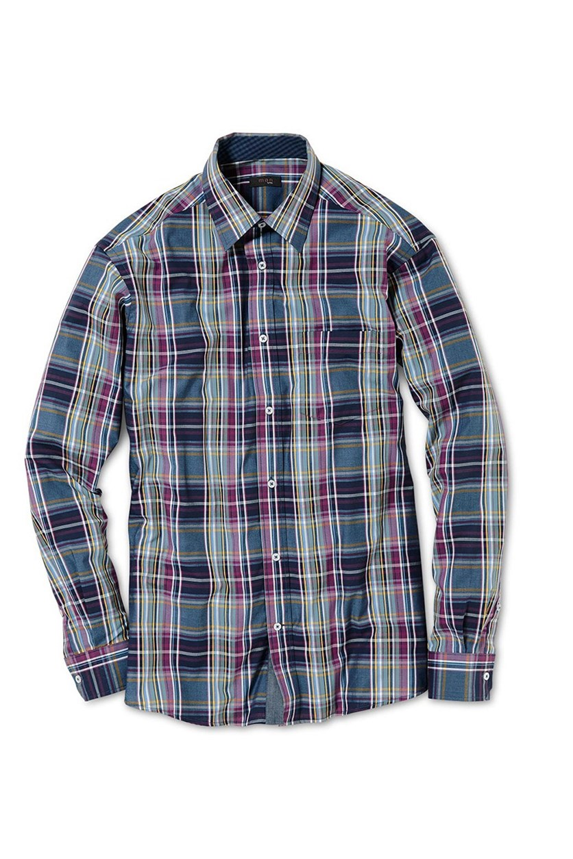 Men's Dress Shirt, Blue