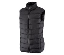 Men's Quilted Sleeveless Jacket, Black