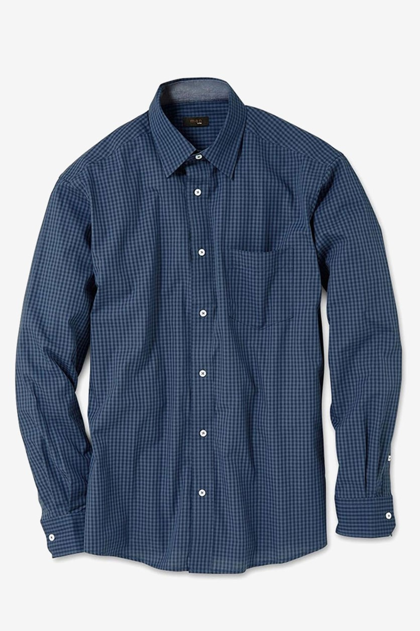Men's Casual Shirt, Blue