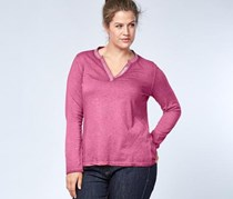 Women's Longsleeve Top, Rose