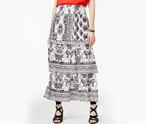 INC Tiered Maxi Skirt, Dandy Floral
