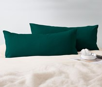 Pillowcase, Jersey, 80 x 40 cm, Green