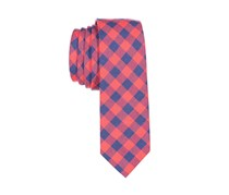 Lord & Taylor Boy's William Plaid Tie, Red/Navy