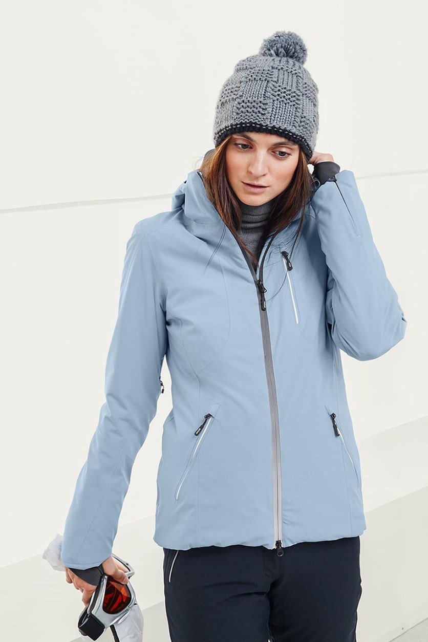 Women's Soft Shell Jacket, Light Blue